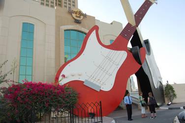 Hard Rock Cafe Dubai by Sancha-de-Aragone