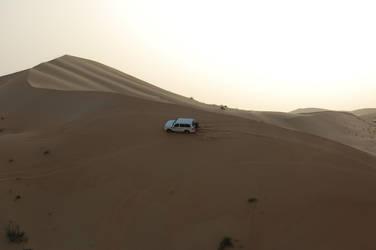 cruising on dunes by Sancha-de-Aragone