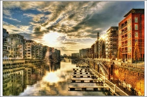 Frankfurt West Port by Riot23