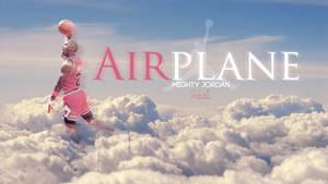 Airplane: Mighty Jordan | Wallpaper by SkdWorld