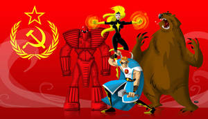 Soviet Super Soldiers by themico