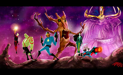 Guardians of the galaxy :) by themico