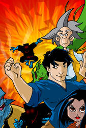 Jackie Chan Adventures by themico