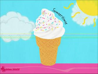 Yummie summer :p by x-missworld-x