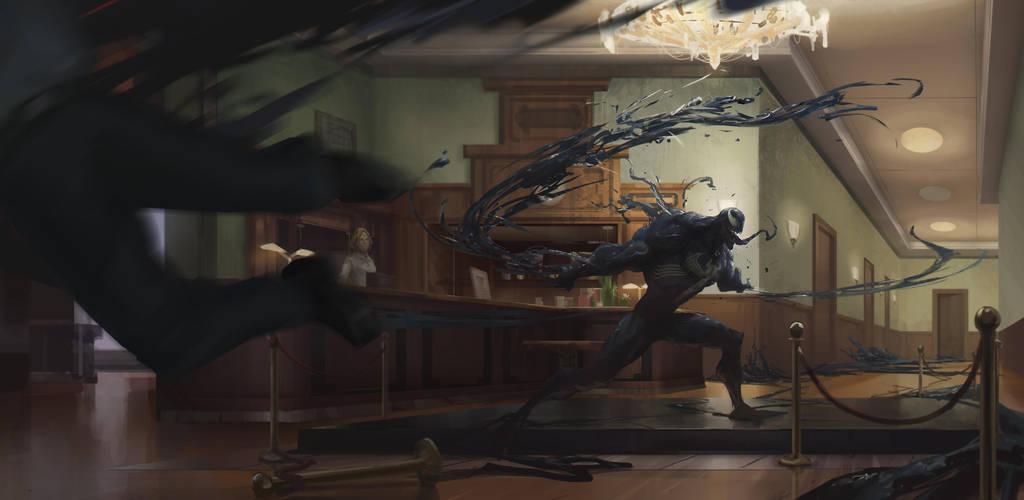 Venom Sketch by Olabukoo