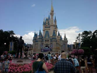 Disney Castle by roxas006