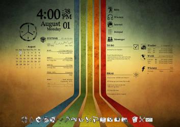My desktop by roxas006