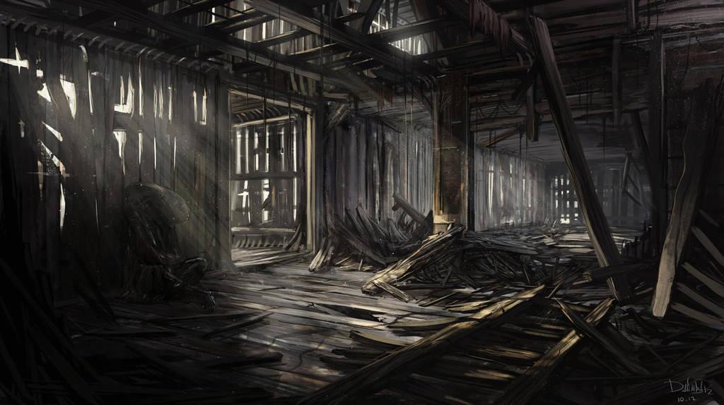 Derelict house by IIDanmrak