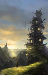 The Hut by IIDanmrak