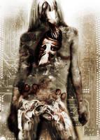 Cybernetic Ninja Girl by KnightFlyte96