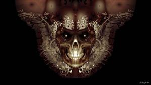 Angelic Skull v1 by KnightFlyte96