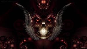 Angelic Skull v2 by KnightFlyte96
