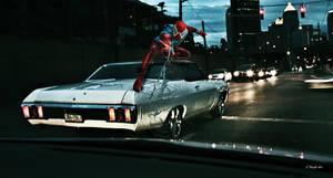 Crimson Spider by KnightFlyte96
