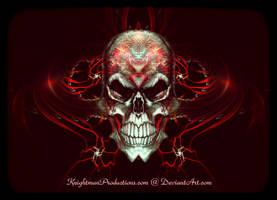Mindwave Skull dA Logo by KnightFlyte96
