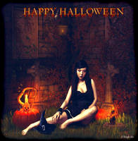 Halloween Witch 2k13 by KnightFlyte96