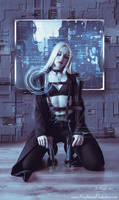 CyberPunk Assassin by KnightFlyte96