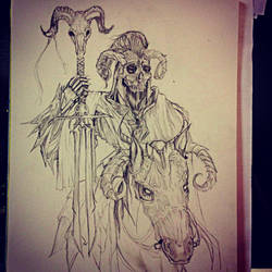 War horsemen series by SimplisticArtistic