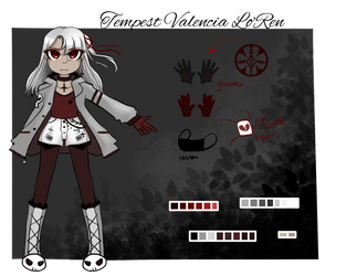 Tempest Vampire Slayer Character Card by MadDuckie76105