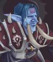 Zenosi, Troll Warrior by MissTakArt