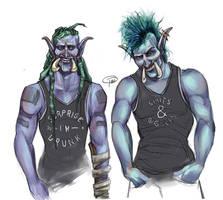 T-Shirt Trolls by MissTakArt