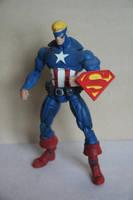 Amalgam Super Soldier action figure by Mace2006