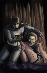 60s Dark Knight Returns by storymancer