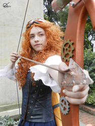 STEAMPUNK MERIDA by javisan1976