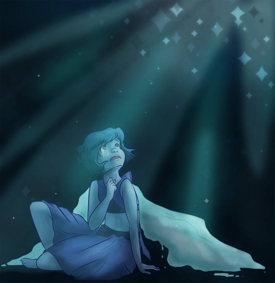 Lapis Lazuli while she's still in her mirror. I feel like, considering she wasn't a completely physical entity, she'd be whole and unbroken inside of the mirror itself. After being woken up by Pear...