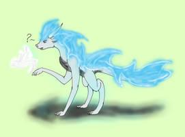 Moody dragon(normal) by CuriousDragonChild