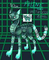 FeLine corp unit #0022 profile data by CuriousDragonChild