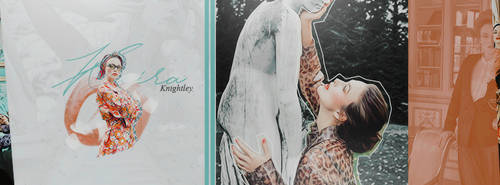Keira Knightley | FREE Facebook Cover by GraphicsUniverse