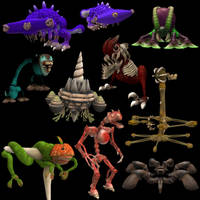 Creatures - Spore 3 by Monster-Man-08