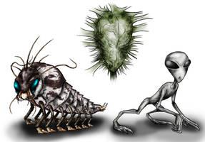Animorphs Races: Skrit Na by Monster-Man-08