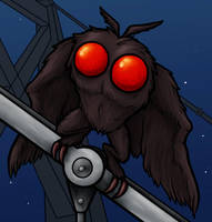 Point Pleasant Mothman by Monster-Man-08