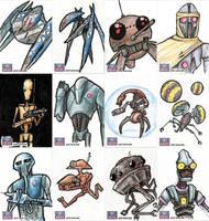 Star Wars Galaxy Sketch Cards - 01 by Monster-Man-08