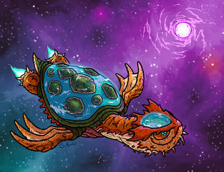 World Turtle by Monster-Man-08