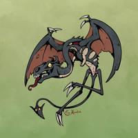 Halloween '17: Jersey Devil by Monster-Man-08