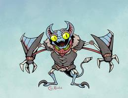 Halloween '17: Gremlin by Monster-Man-08
