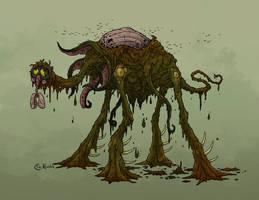 Halloween '18: Smog Monster by Monster-Man-08