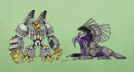 Megatron, DC by Monster-Man-08