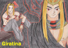 Giratina by Angel-of-Thenis