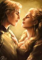asoiaf: Lannister Gold by MathiaArkoniel