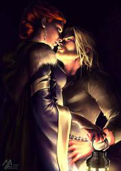 asoiaf: Jaime Catelyn by MathiaArkoniel