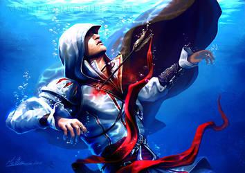 assassins creed: Ezio Auditore by MathiaArkoniel