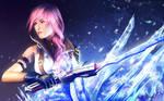 ff13: Lightning by MathiaArkoniel