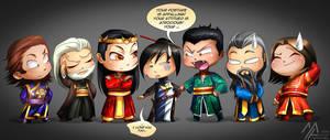 elantra: Kaylin and the Dragon Court by MathiaArkoniel