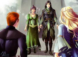elantra: Cast in Peril Illustration 3 by MathiaArkoniel