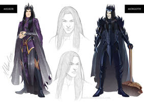 commission: Melkor Character Sheet by MathiaArkoniel