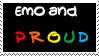 Emo And Proud Stamp by oBsCeNe-EmO-qUeEn