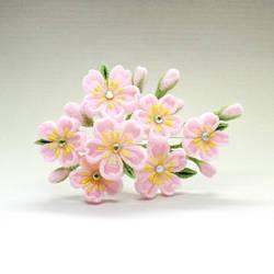 Sakura Comb by Arleen